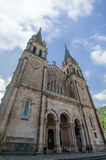 Tombeau de Covadonga Photo stock