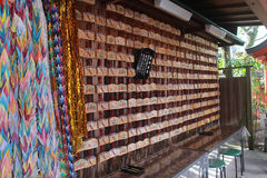 Tombeau de Fushimi Inari à Kyoto Japon Photo stock