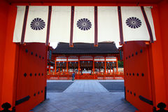 Tombeau de Fushimi Inari au Japon Photos stock