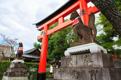 Tombeau de Fushimi Inari, Kyoto photo libre de droits
