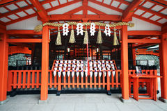 Tombeau de Fushimi Inari, Kyoto, Japon Photo stock