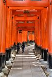 Le Japon - Fushimi Inari Images stock