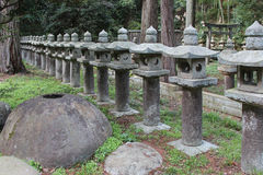 tombeau de Gessho-JI - Matsue - Japon Photo libre de droits