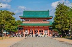 Tombeau de Heian à Kyoto photographie stock libre de droits