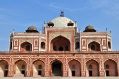 Tombeau de Humayun, Inde. Photo libre de droits