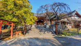 Tombeau de jinja de Himuro à Nara Images libres de droits