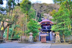 Tombeau de Kamakura Images libres de droits