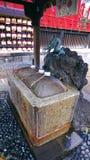 Tombeau de l'eau sainte d'Ueno Image stock