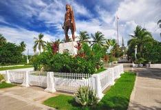 Tombeau de Lapu-lapu, Cebu, Philippines Photographie stock libre de droits