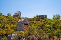 Tombeau de Lycian Photo libre de droits