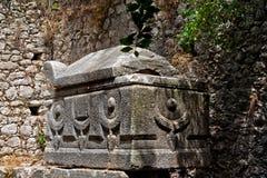 Tombeau de Lycian Photographie stock