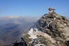 Tombeau de montagne Image stock