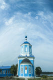 Tombeau de notre Madame dans la ville blanche de la région de Tver Image stock