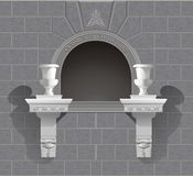 tombeau de place du mur 3D Illustration Stock