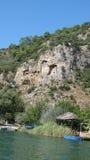 Tombeau de roche de Lucian Images stock