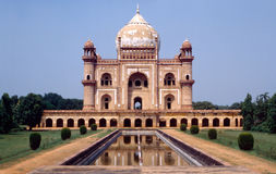 Tombeau de Safdarjang à Delhi Photographie stock libre de droits
