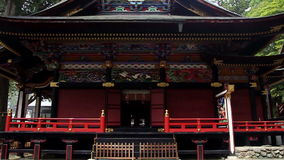 Tombeau de Shinto antique Mitsumine japan Chichibu Saitama clips vidéos