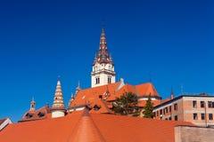 Tombeau de St Mary de Marija Bistrica, Croatie Photo stock