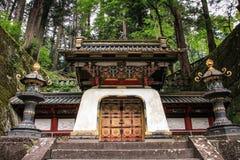 Tombeau de Toshogu, Nikko, préfecture de Tochigi, Japon image libre de droits