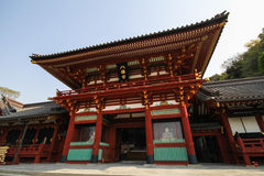 Tombeau de Tsurugaoka Hachimangu, Kamakura, Japon Image stock