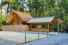 Tombeau grand d'Ise Jingu GekuIse - tombeau externe en Ise City, Mie Prefecture image libre de droits