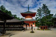 Tombeau Japanr de temple de Koyasan Danjo Garan Images stock