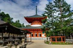 Tombeau Japanr de temple de Koyasan Danjo Garan Photographie stock libre de droits