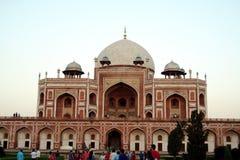 tombeau neuf du humayun s de Delhi Photographie stock libre de droits