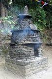 Tombeau sacré près de lac Khecheopalri, Sikkim occidental Image stock