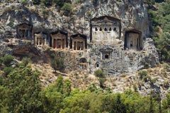 Tombeaux #2 de Lycian Image stock