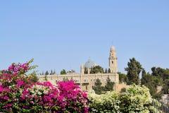 Tombeaux chrétiens à Jérusalem Images libres de droits