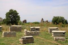 Tombeaux d'Ephesus Images libres de droits