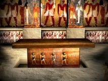 Tombeaux de l'Egypte 3 Image libre de droits