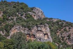 Tombeaux de Lycian Photographie stock