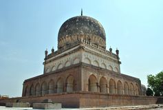 Tombeaux de Qutb Shahi, Hyderabad Images libres de droits