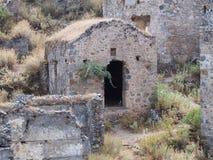 Tombeaux de roche de Lycian images stock