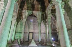 Tombeaux de Saadian à Marrakech, Maroc Photographie stock libre de droits