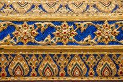 Tombeaux grands de Wat Phra Kaew de palais de Bangkok, Thaïlande Photos stock