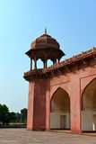 Tomben av Akbar storen, Agra Royaltyfri Bild