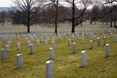 Tombes 144 d'Arlington image stock