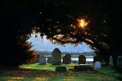 tombes Images libres de droits