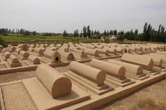 Tombes d'Uighurs Photos libres de droits