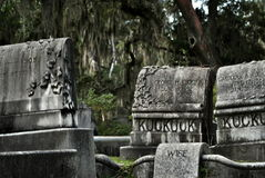 Tombes de Bonaventure Cemetery Photo stock