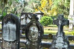 Tombes de Bonaventure Cemetery Photo libre de droits