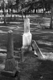 Tombes de cimetière Images stock