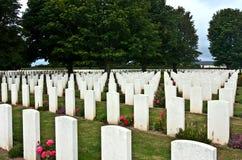 Tombes de guerre Photographie stock libre de droits