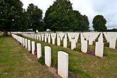Tombes de guerre Photo stock