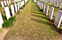 Tombes de guerre Image stock