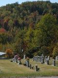 Tombes de montagne Images libres de droits