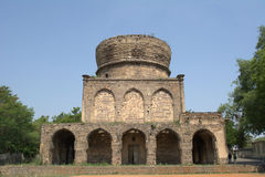 Tombes de Qutub shahi à Hyderabad Image stock